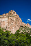 Garden of the Gods Rock Formation - Colorado Royalty Free Stock Image