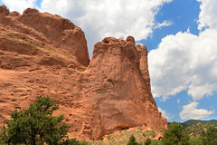 Garden of the Gods Rock Formation Stock Image
