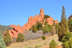 Garden Of The Gods Royalty Free Stock Photography