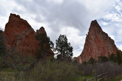 Garden of the gods. This was taken at the garden of the gods in May of 2017 stock image