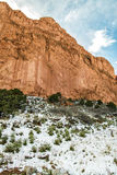 Garden of the Gods Winter Snow Royalty Free Stock Images