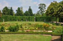 Garden of Grand Trianon in Marie Antoinette estate Stock Photos