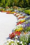 Garden of Grassalkovich Palace Royalty Free Stock Image