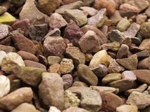 Garden gravel Stock Photos