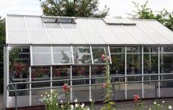 Garden greenhouse Royalty Free Stock Photos