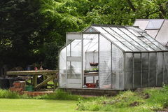 Garden greenhouse Stock Photos
