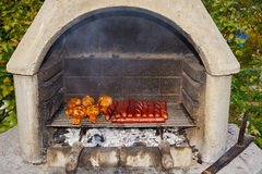 Garden grill Stock Photography