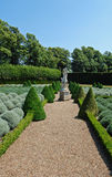 The garden at Ham House, near Richmond (UK). Ham House is situated beside the River Thames in Ham, south of Richmond in London, United Kingdom. It is claimed to Stock Photo