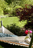Garden hammock Royalty Free Stock Photos