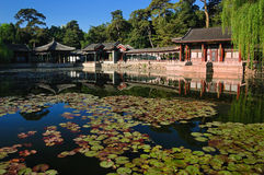 Garden of Harmonious Interests in summer palace. In summer palace, the Garden of Harmonious Interests, with its exquisite design and distinctive layout, is known Royalty Free Stock Photography