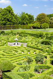 Garden of Hatfield House. In Hertfordshire, England Royalty Free Stock Photos
