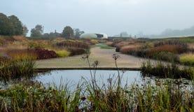 Garden at Hauser & Wirth Gallery named the Oudolf Field, at Durslade Farm, Somerset UK. Designed by landscape artist Piet Oudolf