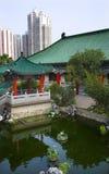 garden hong kong pavilion red temple water Στοκ φωτογραφίες με δικαίωμα ελεύθερης χρήσης