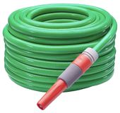 Garden Hose. Hand made clipping path included stock photography