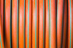 Garden hose background texture. Abstract royalty free stock image
