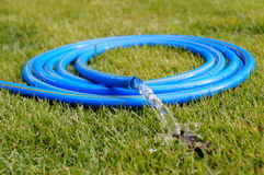 Garden  hose . Royalty Free Stock Images