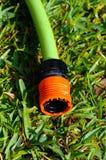Garden hose connector. Royalty Free Stock Photo