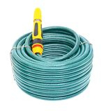 Garden Hose Isolated on White Background Royalty Free Stock Image