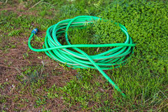 Garden hose-pipe outdoor Royalty Free Stock Image