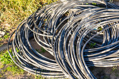 Garden hose-pipe outdoor Royalty Free Stock Photos