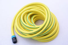 Garden hose-pipe wiht coupling Royalty Free Stock Photo