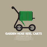Garden Hose Reel Carts. Royalty Free Stock Image