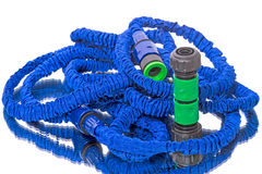Garden Hose on white Royalty Free Stock Photos