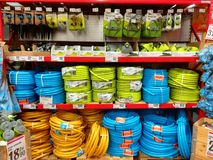 Garden Hoses Royalty Free Stock Photos