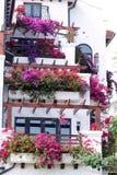Garden hotel Stock Images