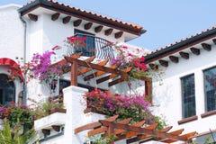 Garden hotel Royalty Free Stock Photos