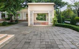 Garden House. Clubhouse in the public garden Stock Photos