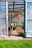 Garden house vertical Stock Images