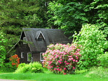 Garden houses Stock Images