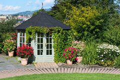 Garden hut in Oslo Royalty Free Stock Image
