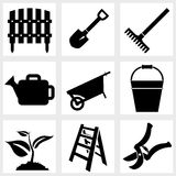 Garden icon Royalty Free Stock Images