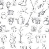 Garden icons set Stock Photos