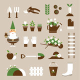 Garden icons vector illustration