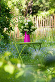 Garden idyll Royalty Free Stock Photo
