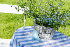 Garden idyll Royalty Free Stock Image