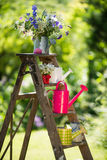 Garden idyll Stock Image