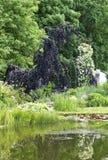 Garden idyll Stock Photo