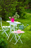 Garden idyll Stock Photography