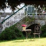 Garden idyll royalty free stock photos