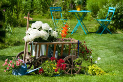 Garden idyll Stock Photography