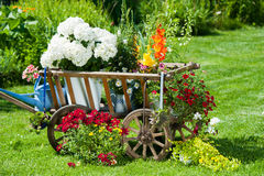 Garden idyll Stock Photos