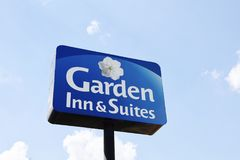 Garden Inn and Suites Hotel Stock Photography