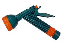 Irrigation gun, nozzle for hose stock photography