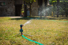Garden irrigation system Stock Photography