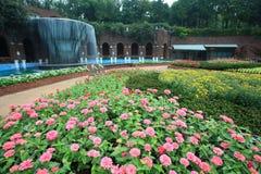 Garden,Jeju Volcanic Island Stock Image