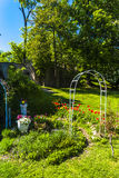 Garden of Jezeri Palace Royalty Free Stock Photography